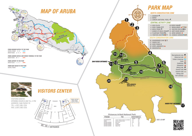 Arikok National Park map