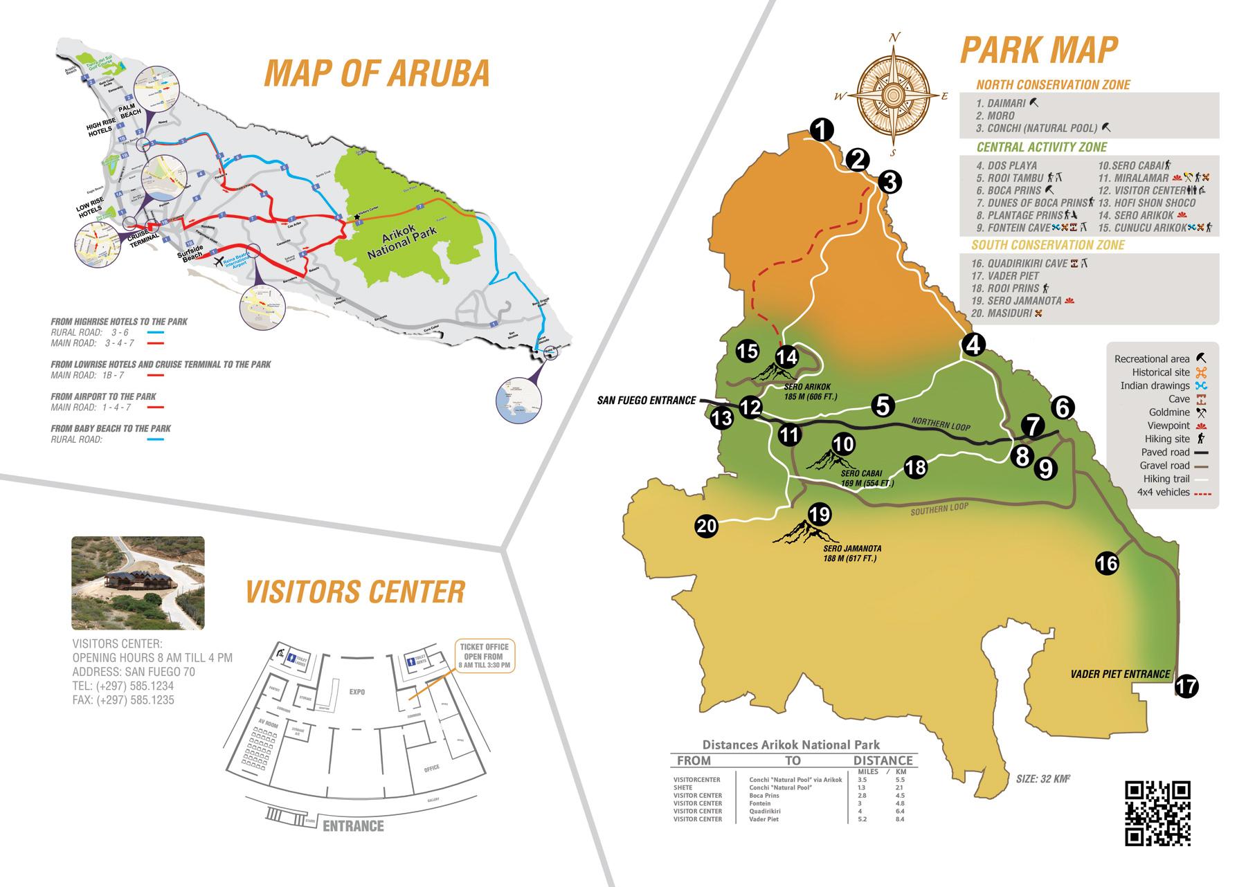Aruba Map Pdf